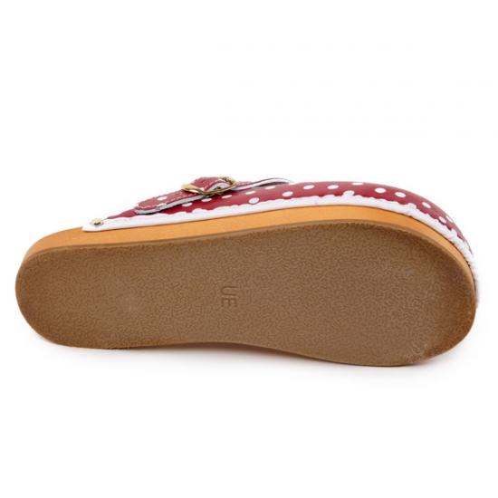4b15a36c3167 Anticelulitídové dreváky CE2 červené a biele bodky
