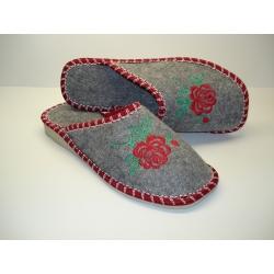 Papuče filcované