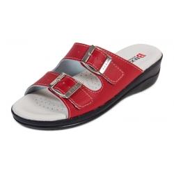 Zdravotná obuv MED 15 červené a čierna podrážka