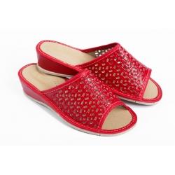 Papuče  TLO červené