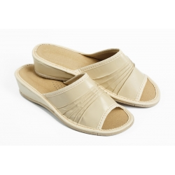 Papuče  MAR svetlobežové