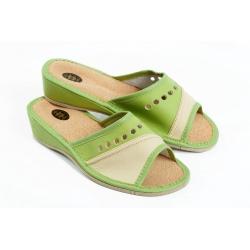 Papuče  PRZ zelené