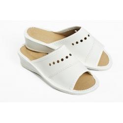 Papuče  PRZ biele