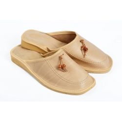 Papuče KOR svetlobéžové