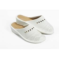 Papuče PRZE biele