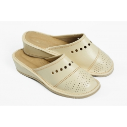 Papuče PRZE svetlobežové