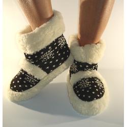 Vlnené papuče/kapce