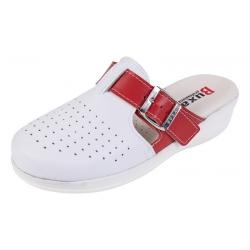 Zdravotná obuv MED 21 červeno biele