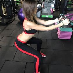 LEGGINGS športové CrossFit 3029