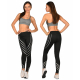 Legíny fitness žiarivo-Reflexné 3073
