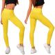 Legíny s vysokým pásom žlté