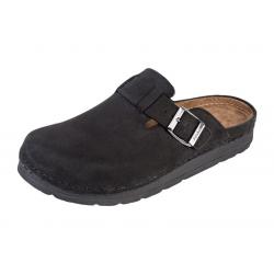 Zdravotná obuv BZ421 čierna brúsená